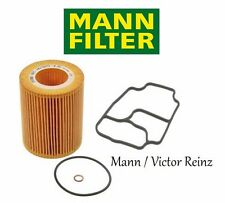 BMW E39 E46 E60 M54 Z3 Oil Filter Kit & Housing Gasket Mann / Victor Reinz