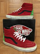 RARE�� VANS Supreme BAD BRAINS Coptic Times Sz 13 Red 1983 P.M.A Green Red Rasta