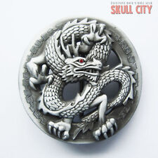 Chinese Dragon Buckle-adorno en la cintura-dragón Fantasy LARP china Asian Asia