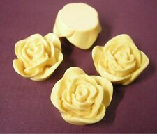 4pc 20mm Resin Flower Cabochon-5320