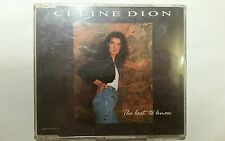 CELINE DION  The Last To Know 3 Track Maxi CD UK 1 657333-2