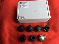 LAND ROVER DISCOVERY 1 & DEFENDER BLACK STEEL WHEEL LOCKING WHEEL NUTS BEARMACH