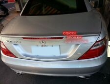 Painted M-BENZ 2012~2016 R172 SLK AMG type trunk spoiler color: 775 silver ◎