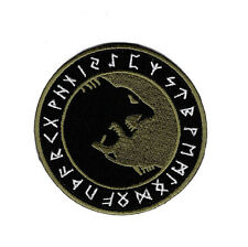 Viking Odin Úlfhédnar No Mercy Only Violence Wolf Odin God Hook Patch