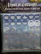 PRIVATEER PRESS HORDES PIP 91014 LEGION OF EVERBLIGHT EVOLUTION TOKENS