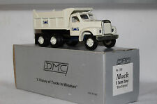 DeHanes Models, 1950's B Model Mack Blue Diamond Coal Truck with Box, 1/55 Scale
