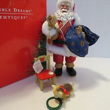 Possible Dreams Clothtiques Santa-Cookie Break No. 15081 Amer. Artist Collection