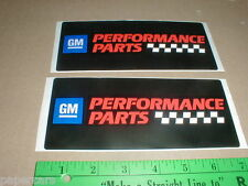 GM General Motors Original Performance Parts decal stickers AC delco goodwrench