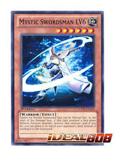 YUGIOH x 3 Mystic Swordsman LV6 - LCYW-EN202 - Common - 1st Edition Near Mint