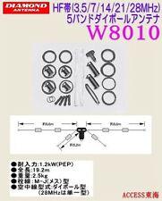 DIAMOND W-8010 DIPOLO 10/80 Mt 1,2 KW 800016
