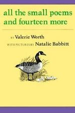 All the Small Poems and Fourteen More Worth, Valerie Paperback