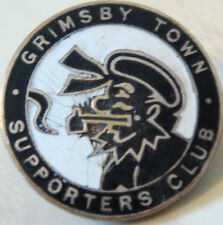 GRIMSBY TOWN Vintage SUPPORTERS CLUB Badge Maker FATTORINI & SONS Button hole