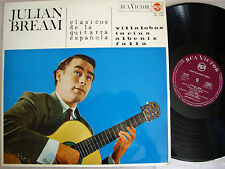 JULIAN BREAM:  CLASICOS DE LA GUITARRA ESPAÑOLA ( 1965 ) Rca Victor Spain