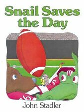 NEW Snail Saves the Day by John Stadler Paperback Book (English)