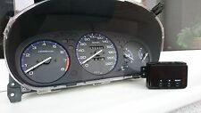 Honda Civic 96-00 OEM Amber M/T Cluster and Clock Km/h EK9 EK4 EJ9 SiR Ferio EDM
