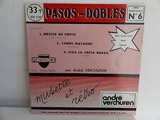 ANDRE VERCHUREN Pasos dobles N°6  Tangos N°5 VERCHUREN SBV 640 MUSETTE ACCORDEON