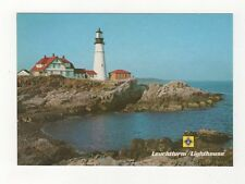 Lighthouse Portland Head Maine Postcard USA 406a ^