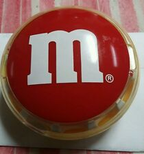 Vintage Red M&M Clip On Belt Candy Dispenser by Mars – Battery Operated