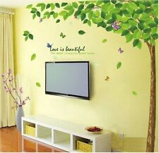 Wall Stickers Bestselling Green Leaves Tree 9011