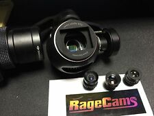 DJI OSMO Modified RageCams Camera 5.4mm+Night Vision Full Spectrum IR Zoom Lens