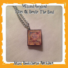 Handmade Harry Potter Inspired Tales Of Beedle The Bard Mini Book Charm Gift