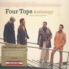 50th Anniversary Anthology by The Four Tops (CD, 2004, 2 Discs) best of LIKE NEW