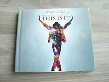 MICHAEL JACKSON This Is It 2CD + BOOK soundtrack movie pop r&b film 80s thriller