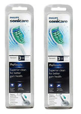 Philips Sonicare HX6013 Proresults Toothbrush 2pack 6pc Brush Heads replacement