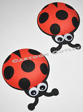 10 pc BABY SHOWER FAVORS GIFTS LADY BUG DECORATION CENTERPIECE FOAM RECUERDOS 4""