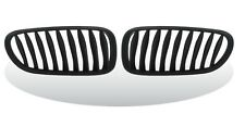 """Front Kidney Grille Matte Black For BMW Z4 / E85 """"2003-2008"""" convertible/coupe"""