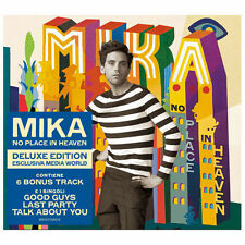 "MIKA ""NO PLACE LIKE HEAVEN"" DELUXE EDITION MEDIAWORLD ITALY ONLY- 6 BONUS TRACKS"
