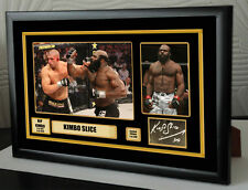 "Kimbo Slice UFC canvas tribute signed Limited Edition ""Great Gift / Souvenir"""
