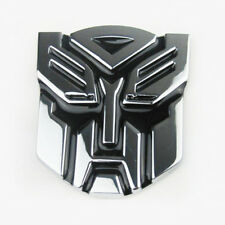 3D Autobot Decepticon Transformers Emblem Badge Graphics Decal Car Sticker