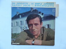 YVES MONTAND Ma gigolette Le simple jardinier ... 432786 BE