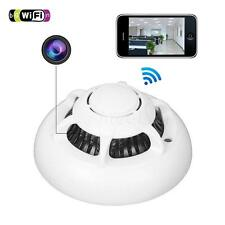 Smoke Detector WiFi HD SPY Hidden Wireless IP Camera Nanny Video Recorder M0BG