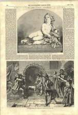 1852 Royal Academy Charlotte Corday Going To Execution Infant Bacchus
