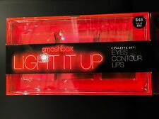 Smashbox Light It Up 3 Palette Set: Eyes Contour Lips ($82 Value)