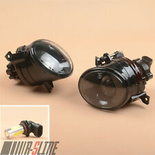 Front Convex Lens LED Fog Light FogLamp W/ 9006 For VW Golf MK5 V Jetta Scirocco