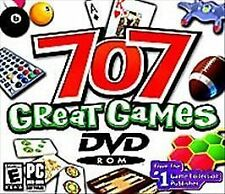 707 Great Games (PC, 2005) - SHIPS FREE - $8.95