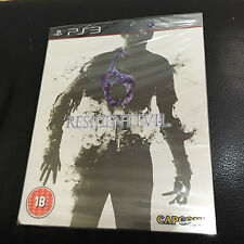Resident Evil 6 Steelbook Edition | PS3 | PAL region-free | Capcom | NEW RE6