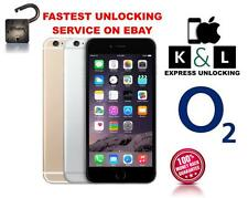 O2  GIFFGAFF UK UNLOCKING SERVICE FOR IPHONE 6S 6SPLUS 6PLUS 5S 5C 5 4S 4 3GS SE
