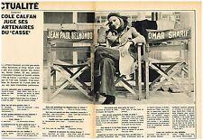 Coupure de presse Clipping 1971 (2 pages ) Nicole Calfan