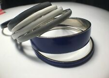 ALDO 7 piece enamel bangle bracelet set