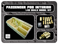 "Space1999 eagle transporter passenger pod interior for the 22"" round 2 model kit"
