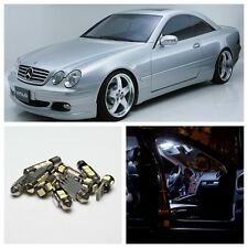 14x LED Interior Lights Error free Kit for 1999-2006 Mercedes Benz CL Class W215