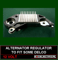 ALTERNATOR REGULATOR TO FIT SOME DELCO REMY VAUXHALL GM OPEL 135336