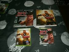 UFC Undisputed 2009 And 2010 For Xbox 360 Brand New Factory Sealed W/Guides