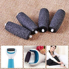 4pcs Replacement Roller Heads for Scholl Velvet Smooth Express Pedi Skin Remover