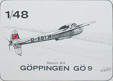 Göppingen GÖ 9 - 1:48 1/48 - Master-X 4807 Resin kit - NEU in OVP - Sehr RAR
