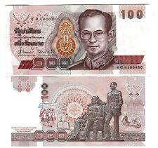 THAILAND 100 BAHT 1994 SIGN 62 UNC P 97